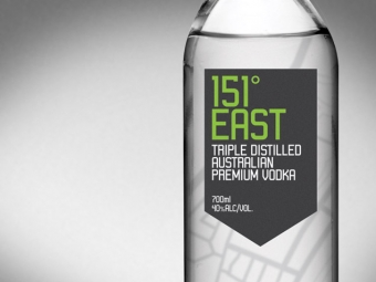 Australian Spirits Distillery Vodka Packaging Design