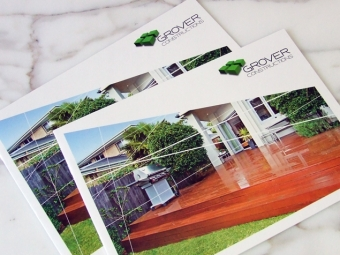 Grover Constructions Collateral Design