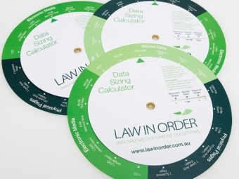 Law In Order Collateral & Graphic Design