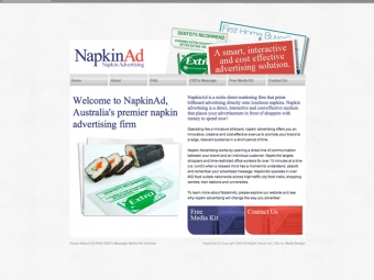 NapkinAd Web Design