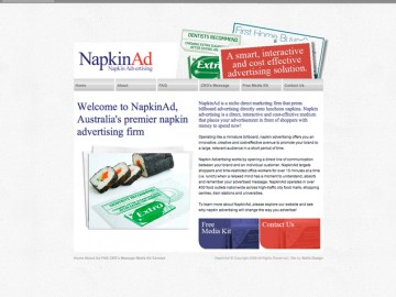 Napkinad-website