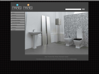 Parisi Website Design