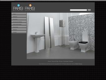 Parisi Website Design