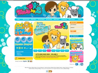 TwoBy2 Website Design