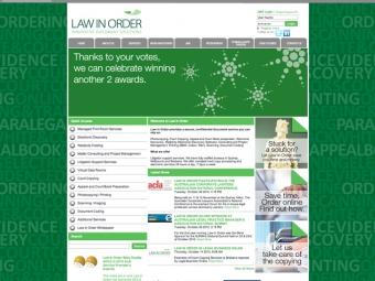 Law In Order Website Design