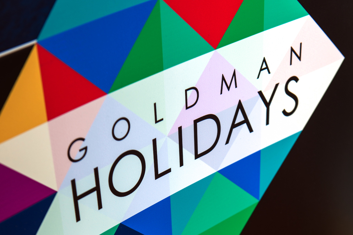 Goldman Holidays Banner Close-up 2