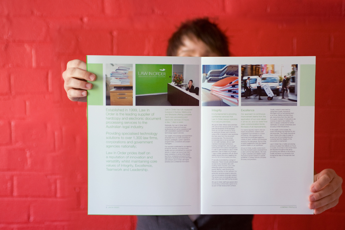 Law In Order Brochure Spread