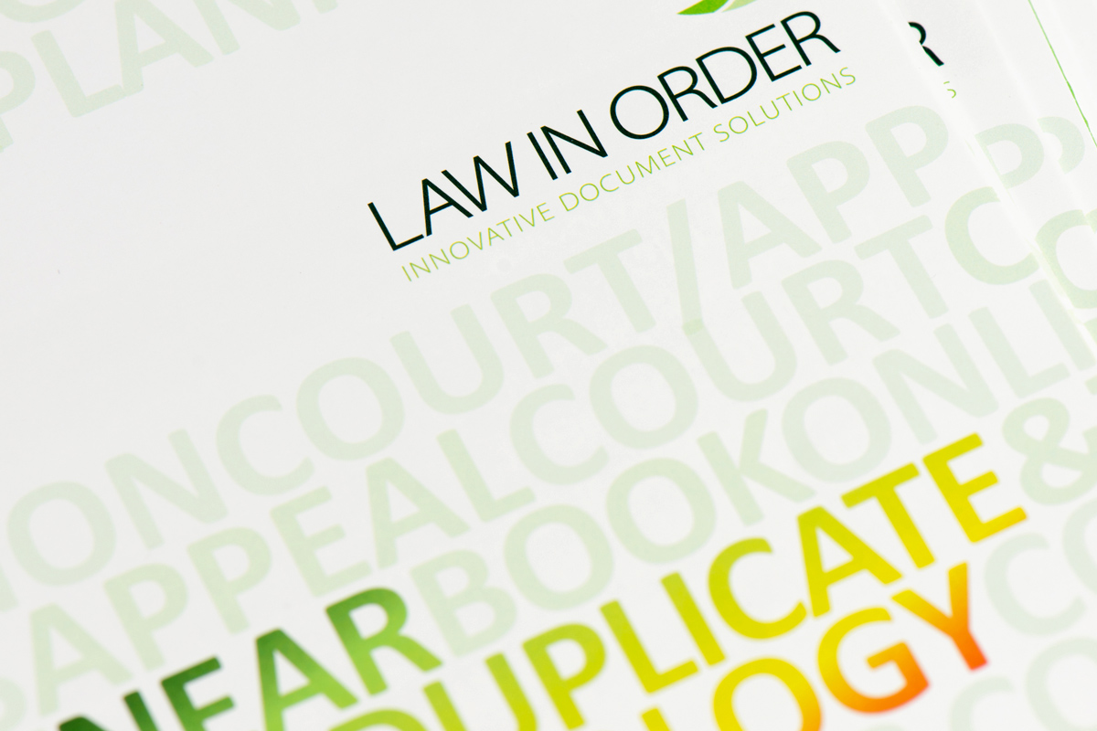 Law in Order book