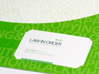Law In Order Advertising Campaign & Collateral Design