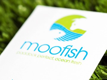 Moofish Business Card Close-up