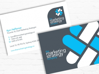 The Marketing Strategy Company Brand & Collateral Design