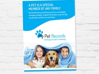 My Pet Records Media Kit and Marketing Collateral