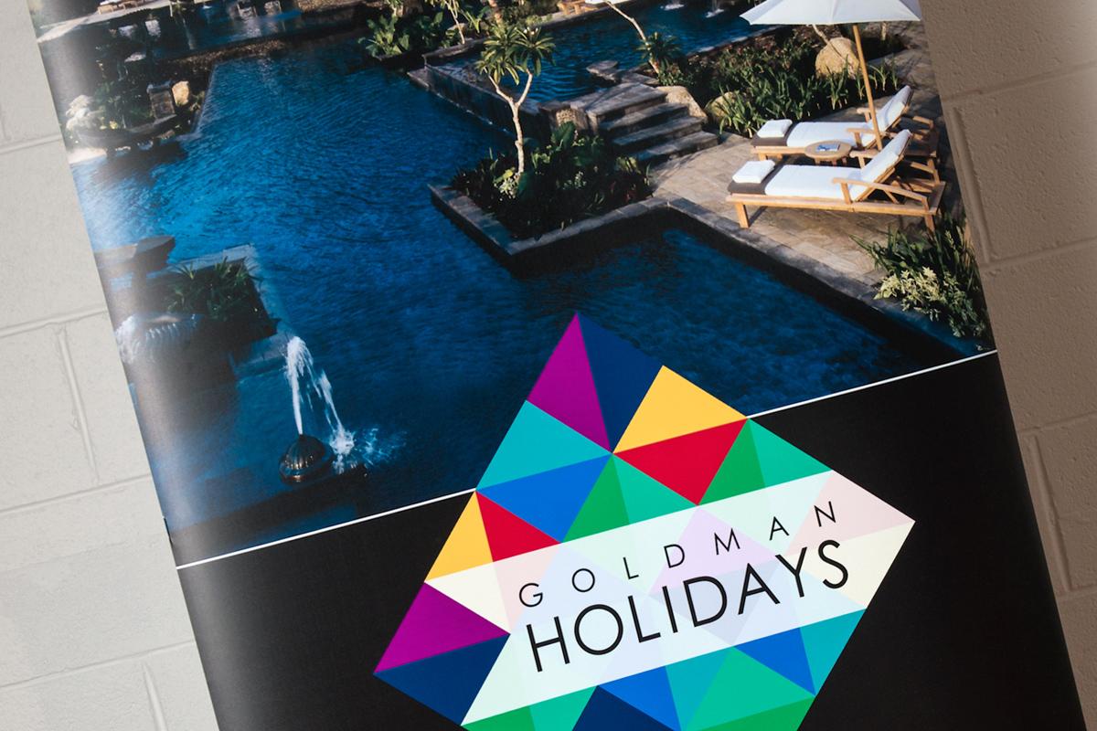 Goldman Holidays Banner Close-up 3