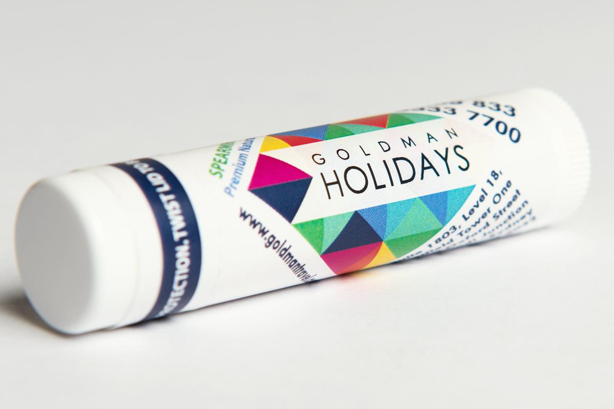 Goldman Holidays Chapstick